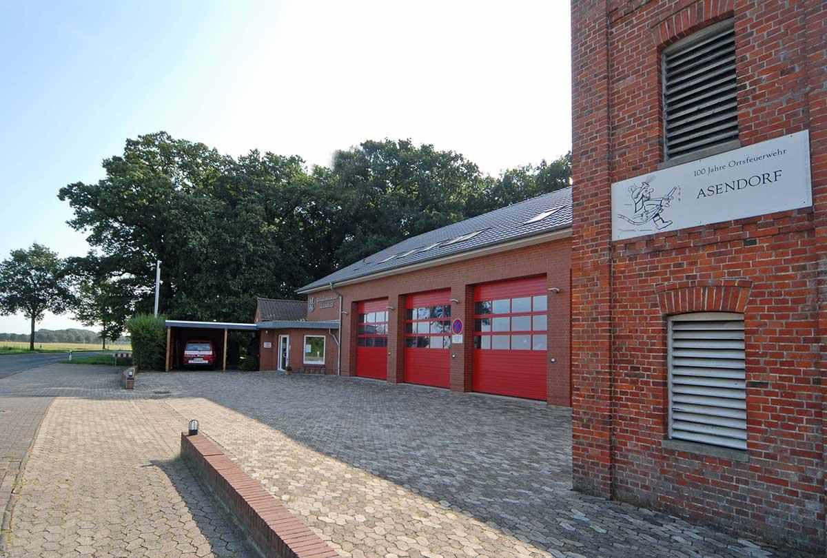 FFW-Geraetehaus in Asendorf