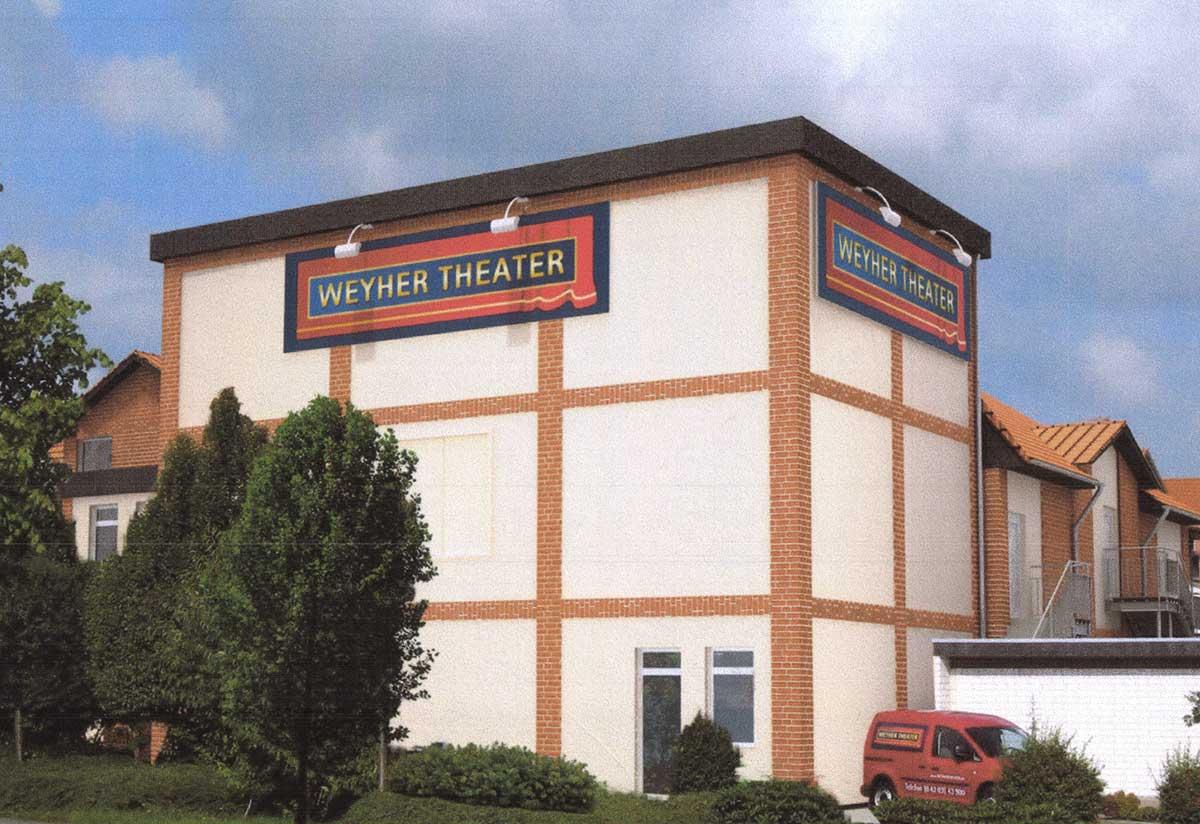 Weyhe Theateranbau