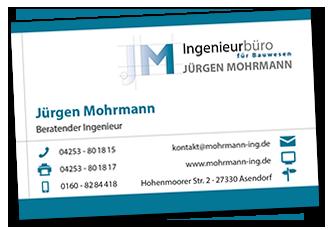 Visitenkarte Jürgen Mohrmann