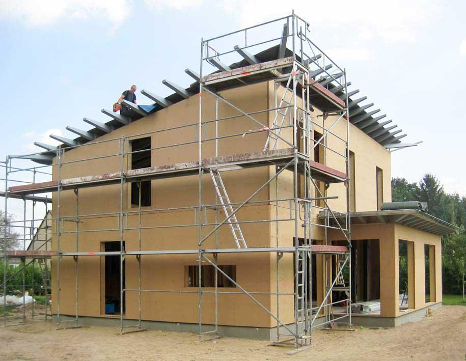 Architektenhaus Holzrahmenbau